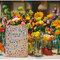 Wesele: dekoracja z różnokolorowych kwiatów, Foto: We heart pictures