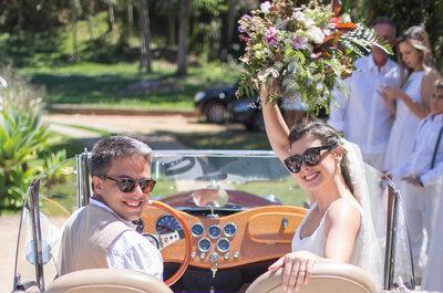 Home Wedding no sítio de Micaela e Gustavo: celebração intimista linda com decoração DIY!