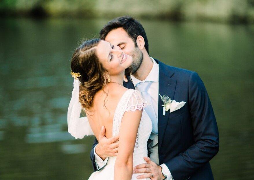 10 profissionais com os quais deve contar no dia do seu casamento: sim ou sim!