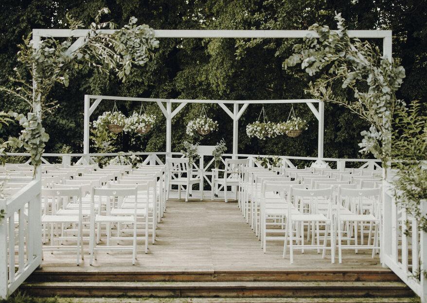 Romantisch-Rustikal heiraten: Charmante Hochzeitslocations auf dem Land