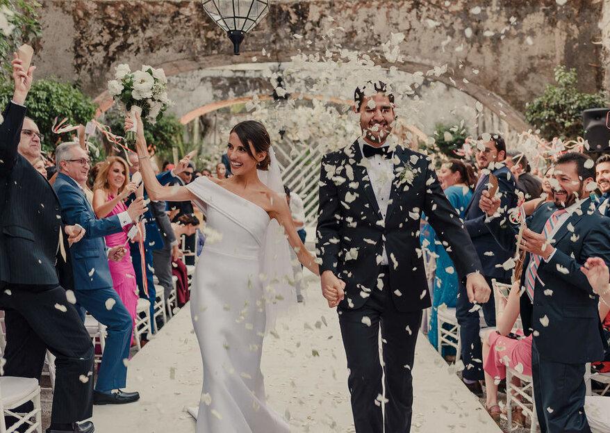 Cómo hacer la entrada y la salida en la iglesia de tu boda