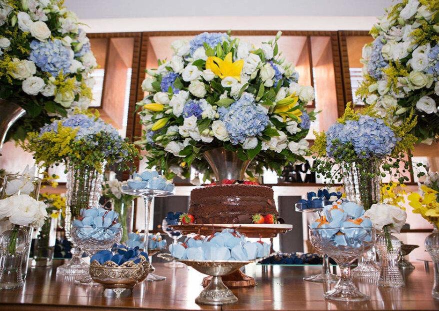 Salão moderno e clean para celebrar seu casamento em grande estilo: conheça o Espaço Villa Glam, em Moema.