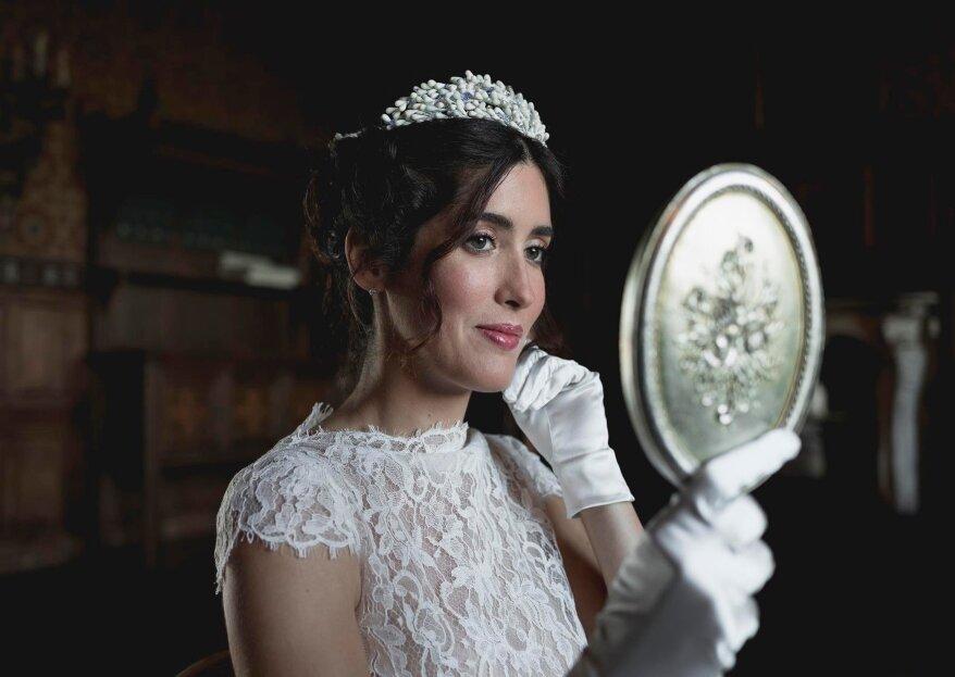 L'estremo romanticismo e l'eleganza di un matrimonio invernale, nello shooting di Le Feltrin!