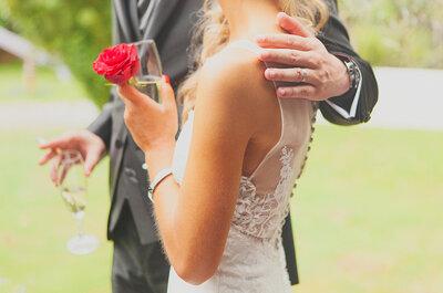 Sara&Telmo: um ilustre casamento em tons de vermelho