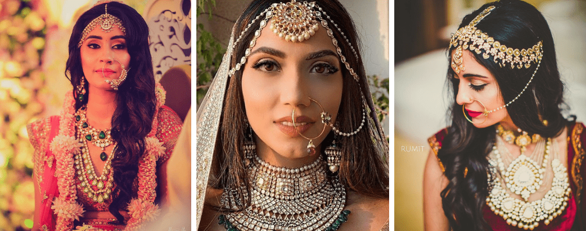 20 Stunning Indian Brides Who Kept Their Hair Open And Went Unconventional