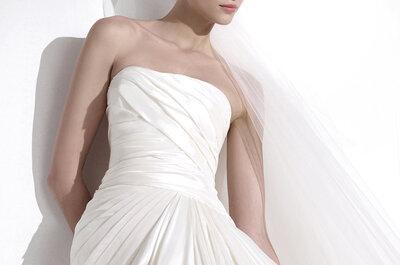 Elie Saab para Pronovias 2015: Delicados encajes para una novia sensual