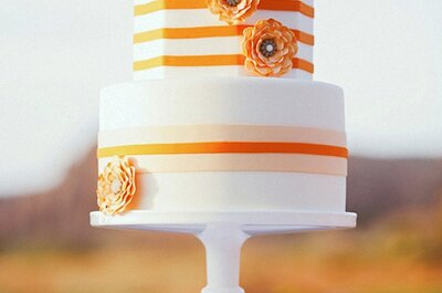 2013 Wedding Cakes: Bold, Modern, and Eye-Catching