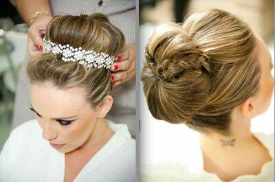 Noiva clássica: penteados e maquiagens para quem sonha em casar como uma princesa