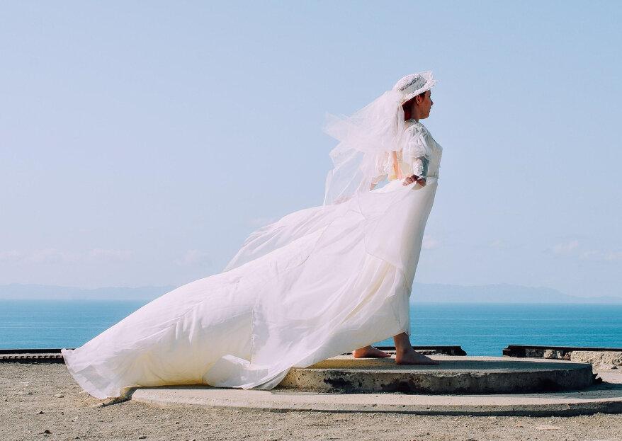 Cómo elegir el velo de novia adecuado según tu tipo de cuerpo. ¡Consejos imprescindibles!
