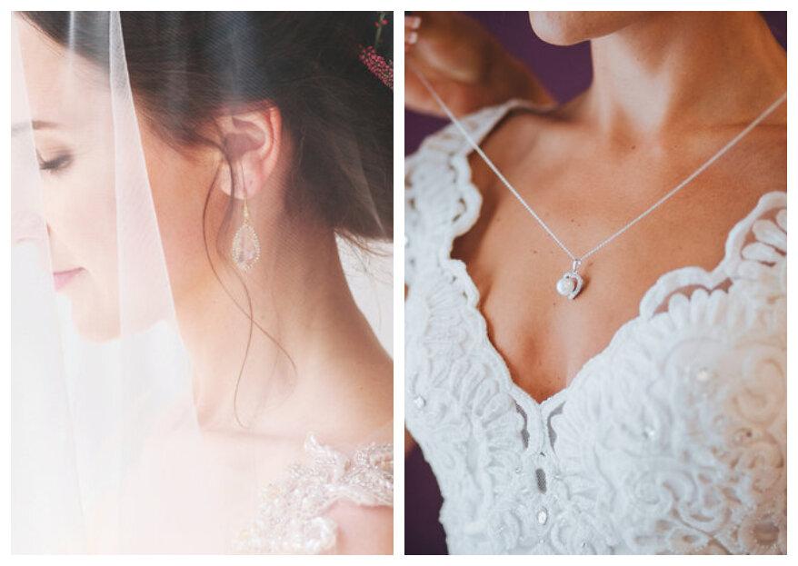 Sieraden voor bij de trouwjurk: de mooiste juwelen voor bij je bruidsjurk op een rijtje!