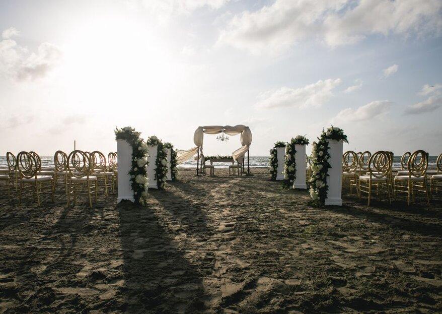 5 elementos que harán de tu boda un encanto: ¡nos explica Cartagena Mágica!