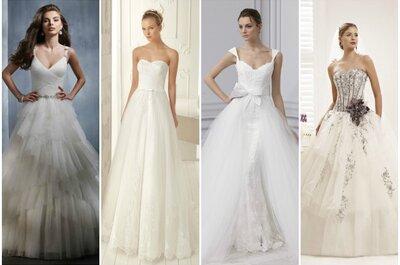 Abiti da sposa in tulle per moderne principesse! I modelli 2013 preferiti da Zankyou