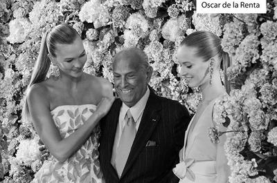 El adiós a un genio: Oscar de la Renta
