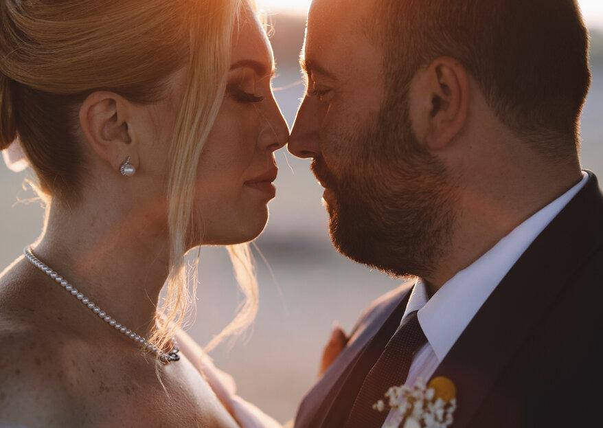 """""""It's a little bit funny this feeling inside"""": il matrimonio di Ida e Francesco"""