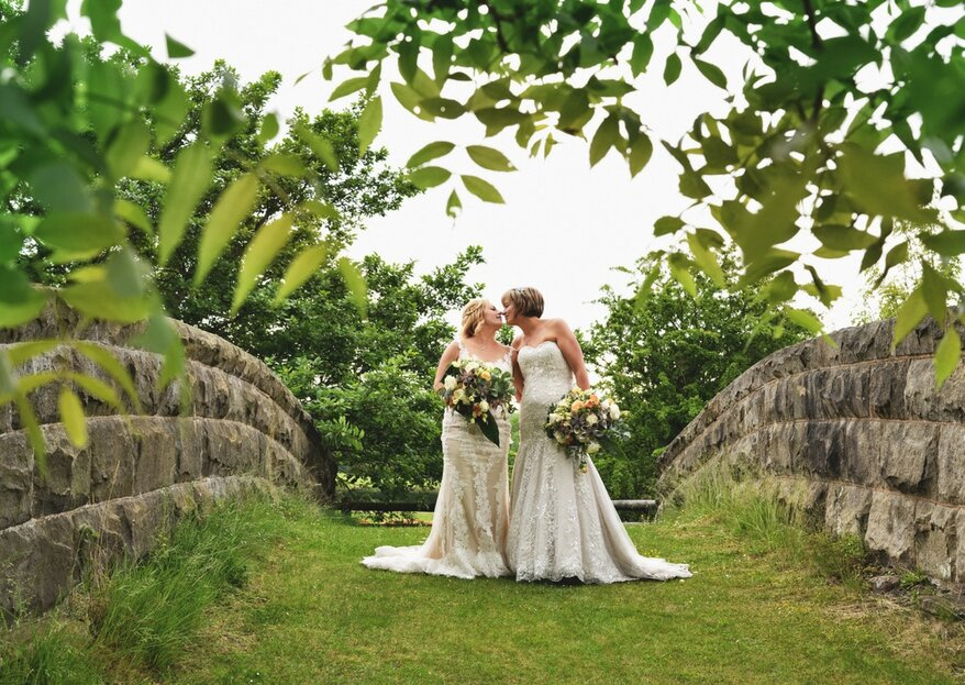 Best of British: Nat and Kate's Rustic-Chic Wedding in Wales