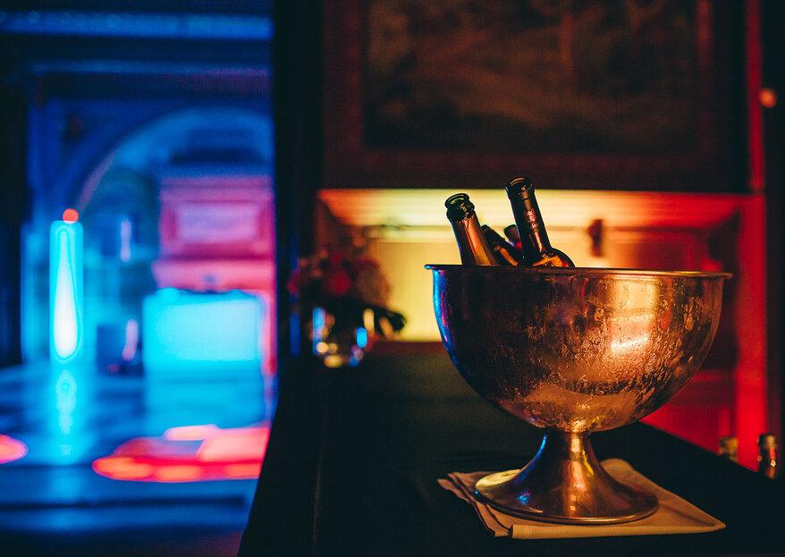 Bar aberto, música e pozinhos de perlimpimpim para inovar na festa do seu casamento