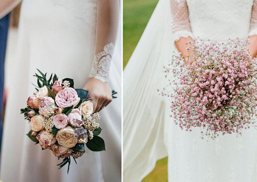 6 bouquet da sposa talmente belli da far impazzire ogni invitata!