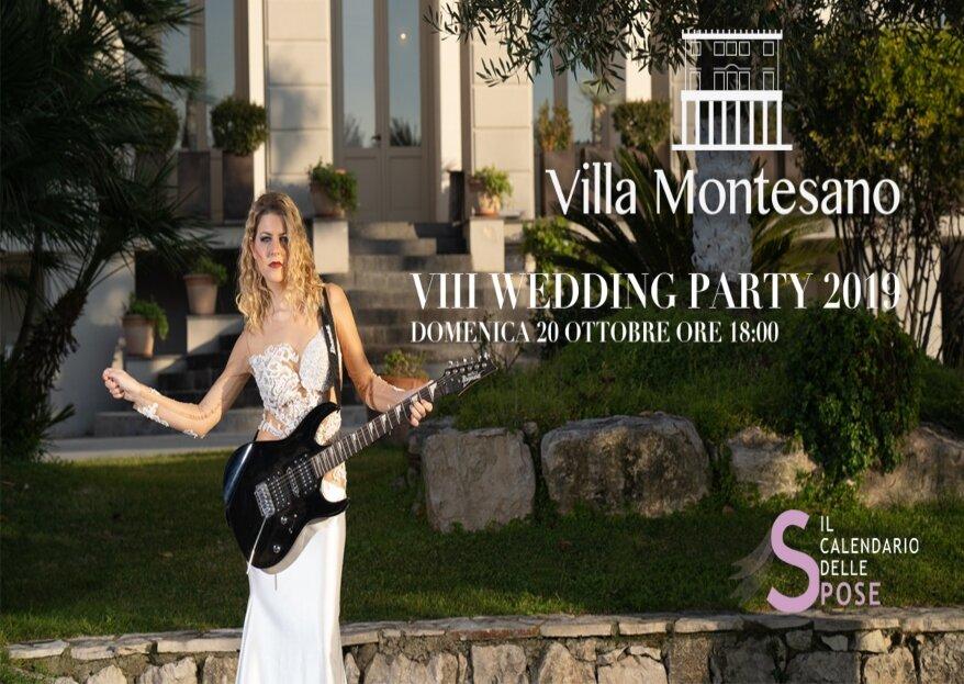 Una serata dedicata al wedding, quella del 20 ottobre 2019 del Il Calendario delle Spose