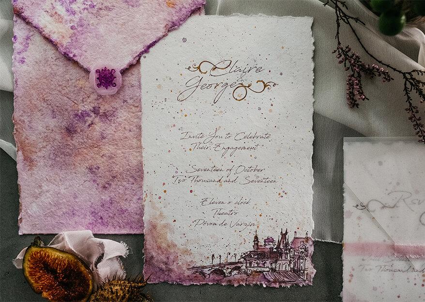 O texto dos convites de casamento: 30 frases românticas e originais