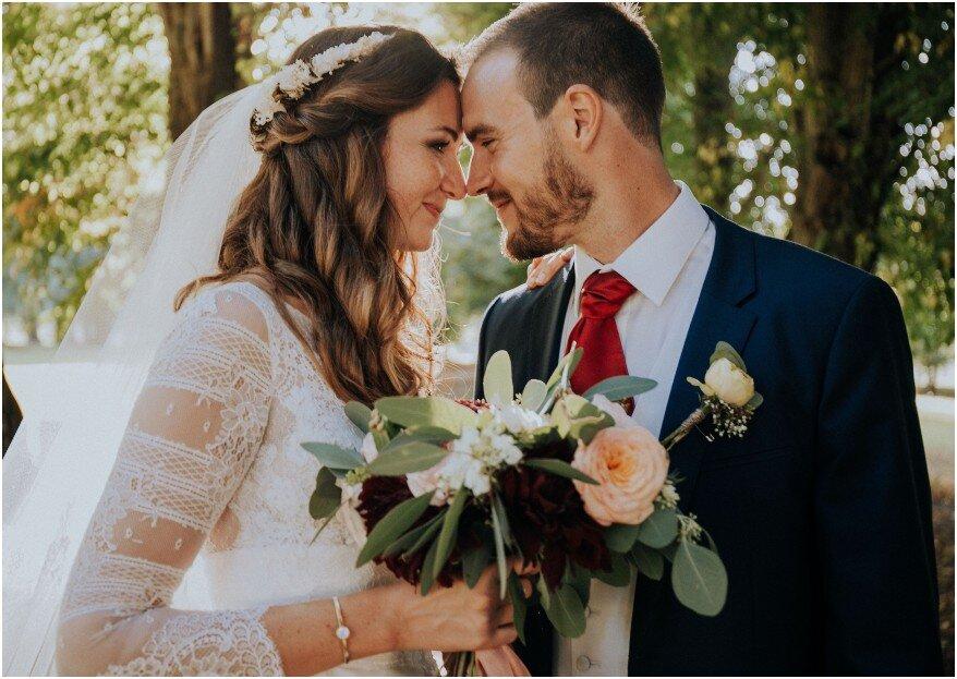 Morgane et Vincent : un mariage riche en émotions où joie, convivialité, amour et liberté ont rendu la cérémonie inoubliable !