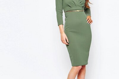 Krótkie zielone sukienki na wesele 2017. Odkryj je!