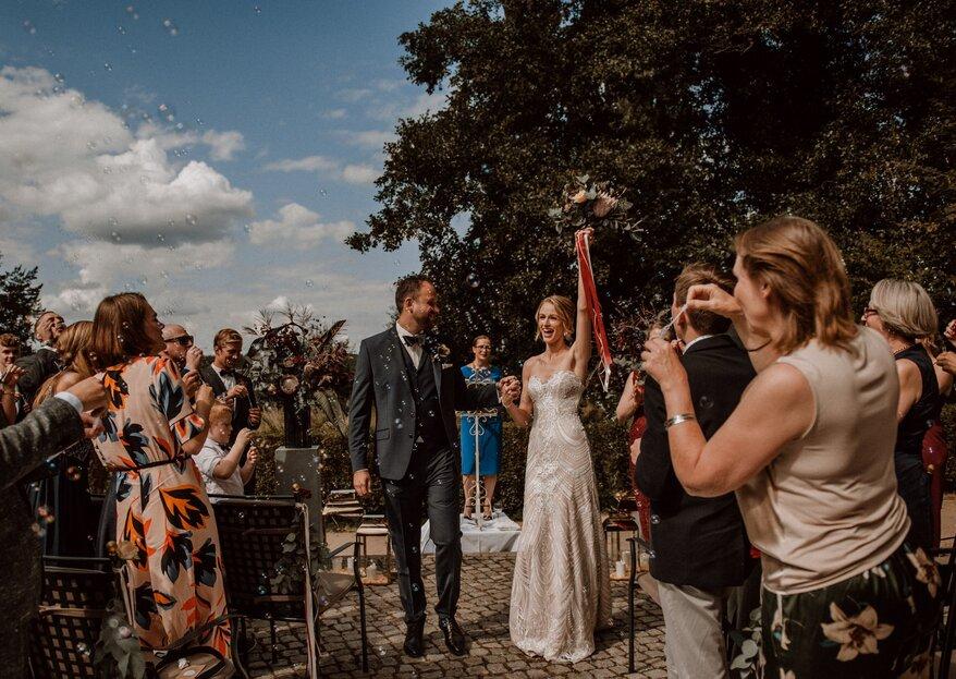 Die beliebtesten Hochzeitsbräuche in Deutschland