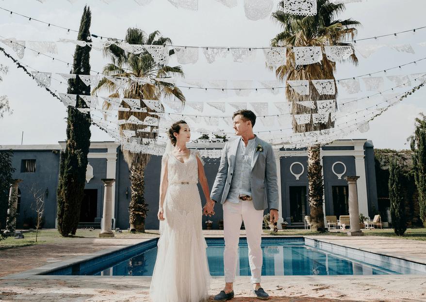 Celebra tu boda en casa: te decimos cómo decorarla