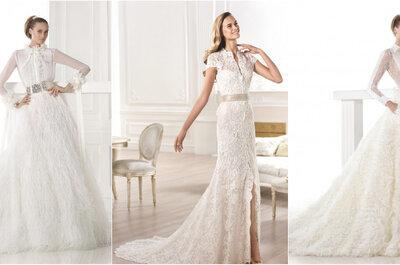 Тенденции свадебных платьев сезона 2015 года