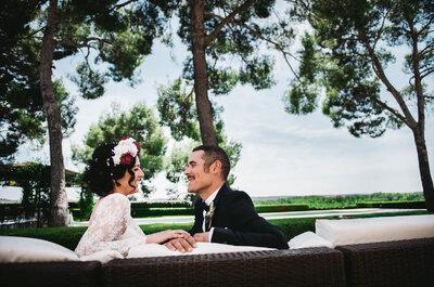 Una celebración 100% personalizada: la boda de Ana y Quini