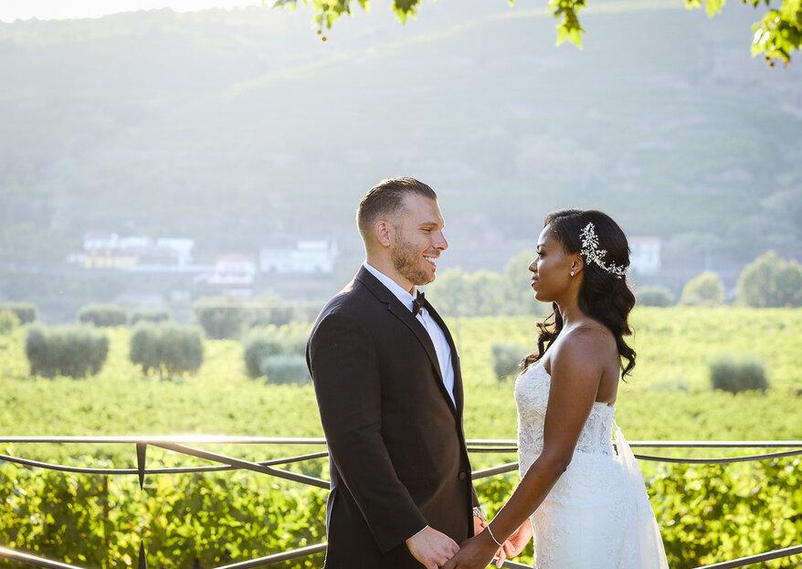 Simone & Jesse: Destination wedding inesquecível em uma vinícola na região do Douro, em Portugal