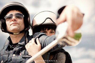 Mit dem Motorrad unterwegs – Hochzeitsreise mal ganz anders