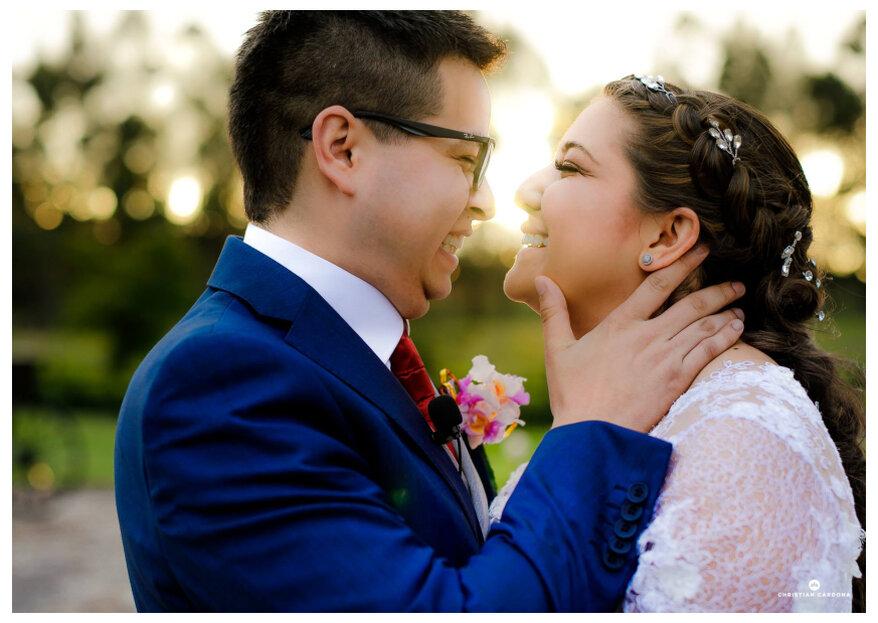 La boda de Laura y Poncho: la unión de México y Colombia y de ¡dos enamorados de los viajes!
