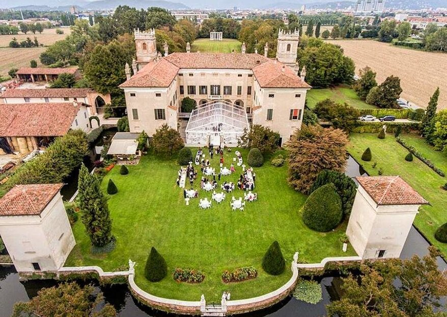 Villa Il Labirinto: an excellent, historic, Brescian residence for your wedding