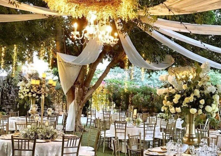 Any Romero planea bodas que son un fiel reflejo de la personalidad de los novios