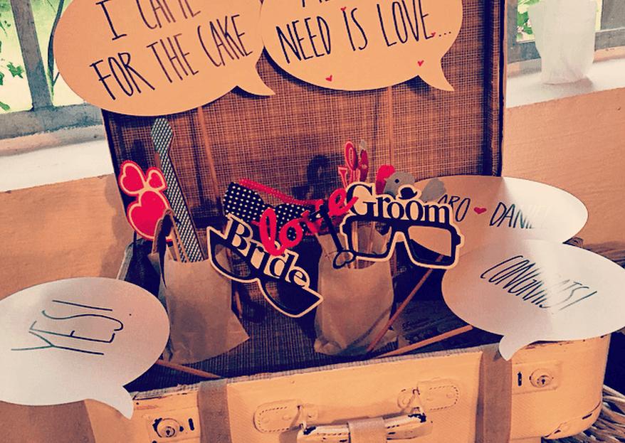 Buchen Sie eine Photobooth für Ihre Hochzeit und der Spaß ist garantiert!