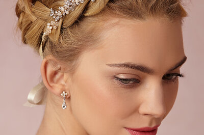 A touch of glitz 'n' glam for your 2015 wedding