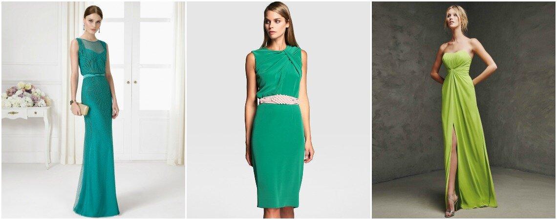 Grüne Festkleider für Hochzeitsgäste – Wählen Sie die Farbe der Hoffnung