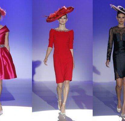 9ca54c1e71 Los vestidos para invitadas de Franc Sarabia 2015