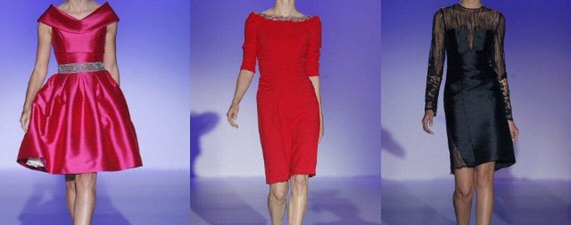 Los vestidos para invitadas de Franc Sarabia 2015