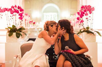 Marion et Jessica : un beau mariage dans un château du Val de Marne