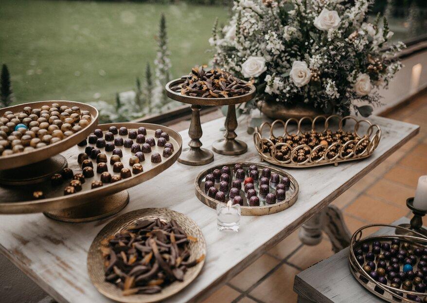 Cinco detalles de chocolate que harán tu boda memorable, Suagu recomienda