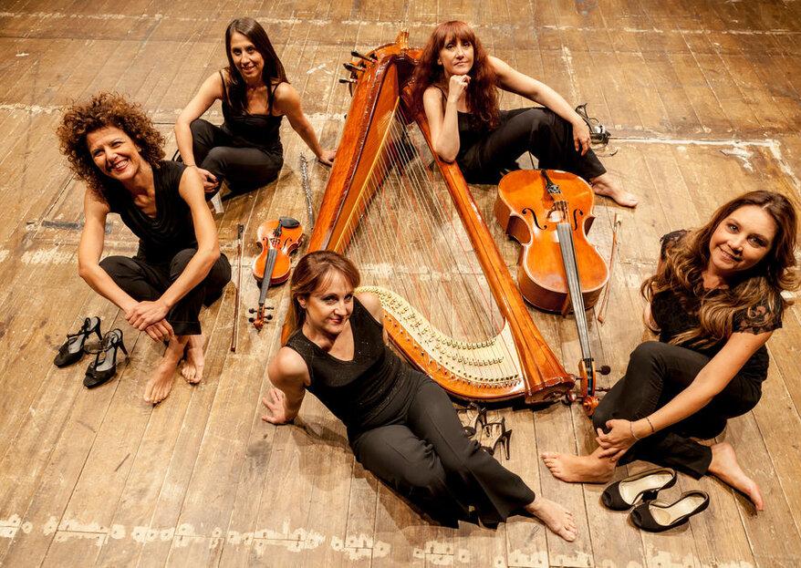 Quintetto Mariposas: la colonna sonora a tempo con la vostra storia d'amore