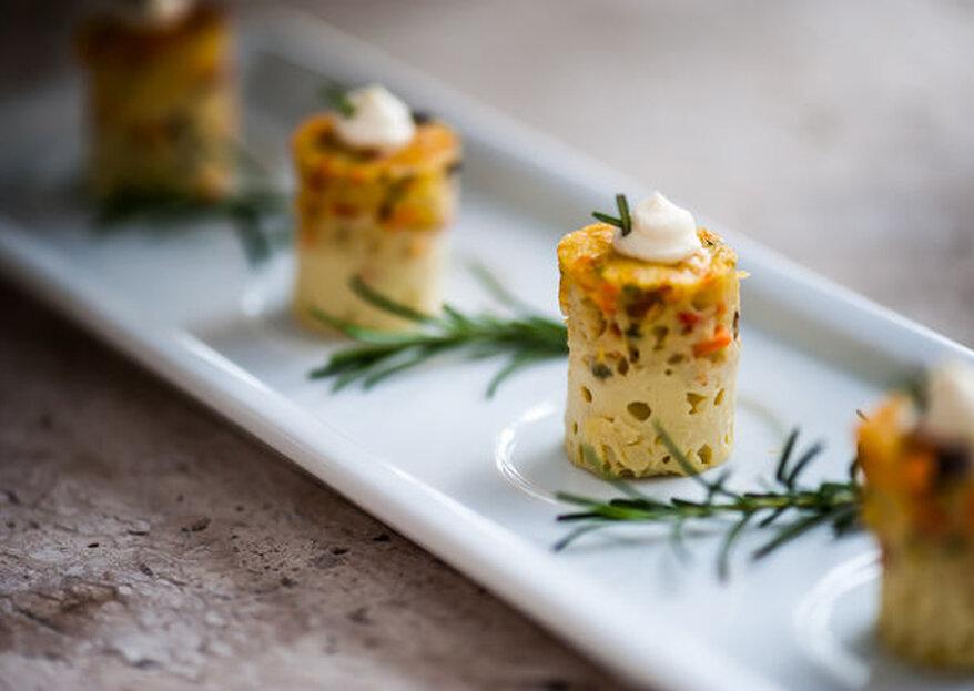 Tenha o melhor da gastronomia ao seu alcance e conquiste os paladares de todos os presentes no seu casamento!