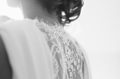 Brautfrisuren-Trend 2013: halb hoch gesteckte Brautfrisuren