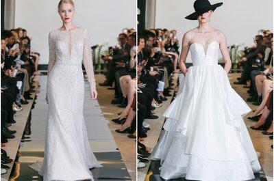 Vestidos de novia Justin Alexander 2018: ¡No te la pierdas!