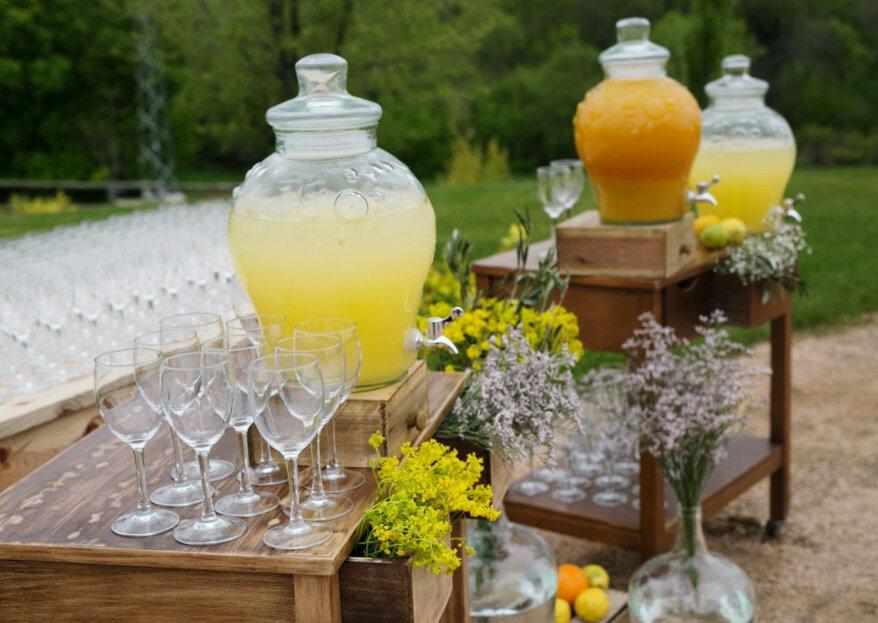 Cómo elegir las bebidas para la boda en 5 pasos