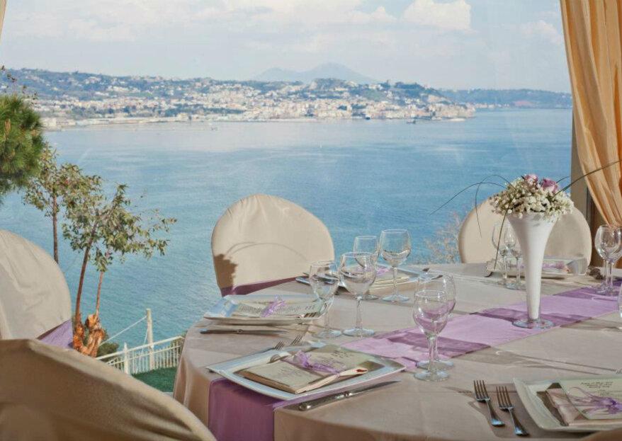 Il Gabbiano: terrazze panoramiche sul golfo di Pozzuoli per il tuo grande giorno