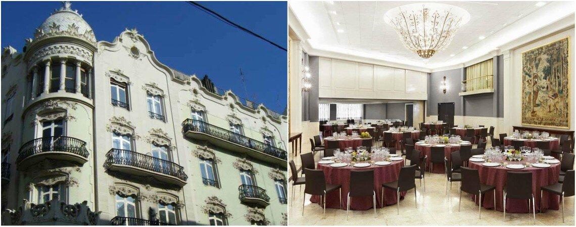 Los 8 mejores hoteles para bodas de Valencia