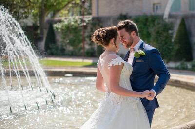 Bénédicte et Benjamin : un mariage champêtre et chic sur les tons pastel