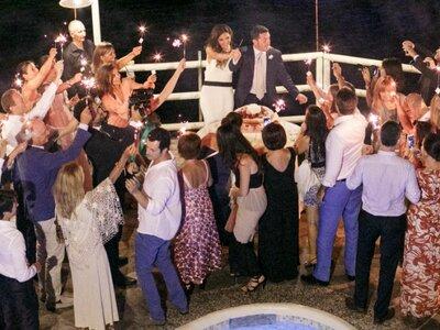 New York Love Story al tramonto caprese: le nozze di Martina e Giuseppe